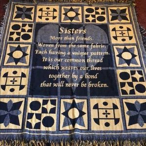 Other - Sisters Throw/Blanket